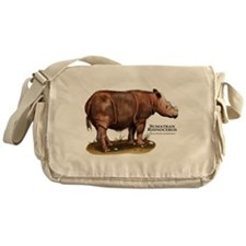 Sumatran Rhinoceros Messenger Bag