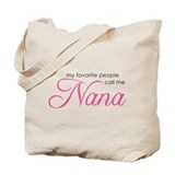 Nana Canvas Totes