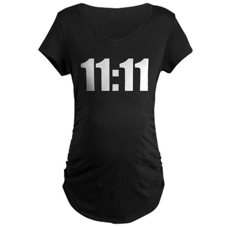 11:11 Maternity Dark T-Shirt