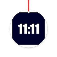 11:11 Ornament (Round)