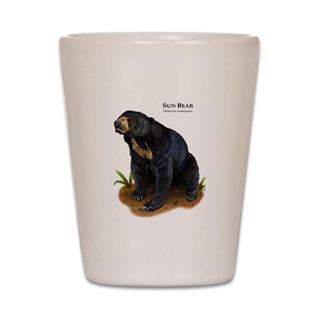 Sun Bear Shot Glass