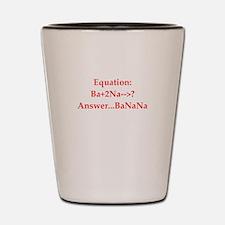math jokes Shot Glass