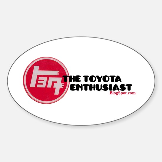 The Toyota Enthusiast2.blogspot Decal