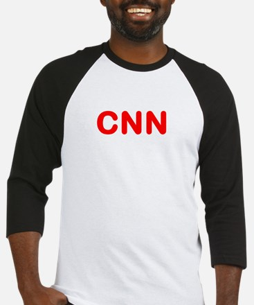 WHITE CNN FAKES NEWS Baseball Jersey