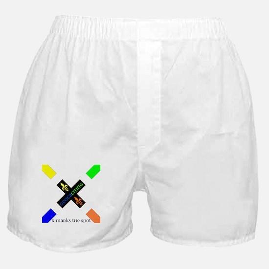 X Marks the Spot Boxer Shorts