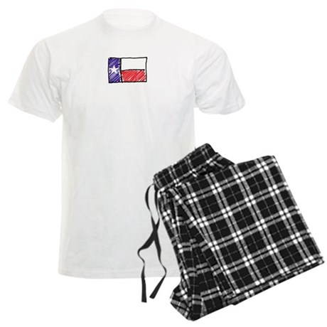 Texas Flag Men's Light Pajamas