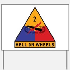2nd Armored Division Yard Sign