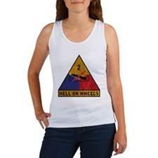2nd Armored Division Vintage Women's Tank Top