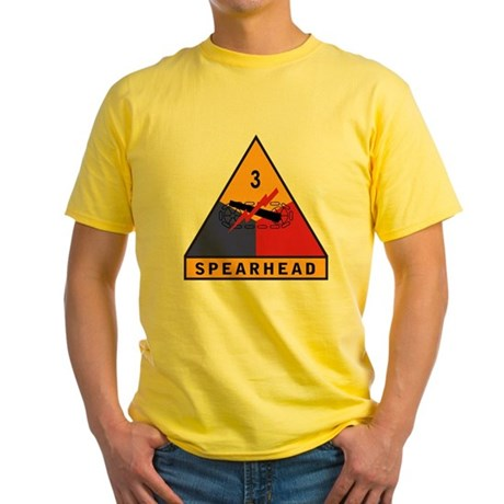 3rd Armored Division Yellow T-Shirt