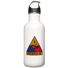 3rd Armored Division Vintage Water Bottle