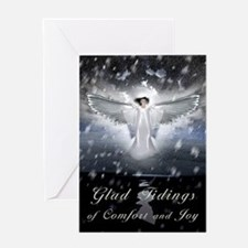Welcoming Angel Greeting Card