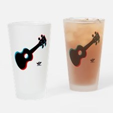 Ukulele 3D Drinking Glass