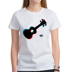 Ukulele 3D Women's T-Shirt