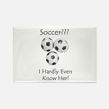 Soccer??? Rectangle Magnet (10 pack)