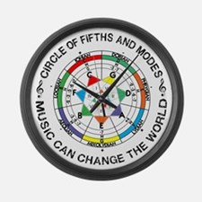 Cool Circle of fifths Large Wall Clock