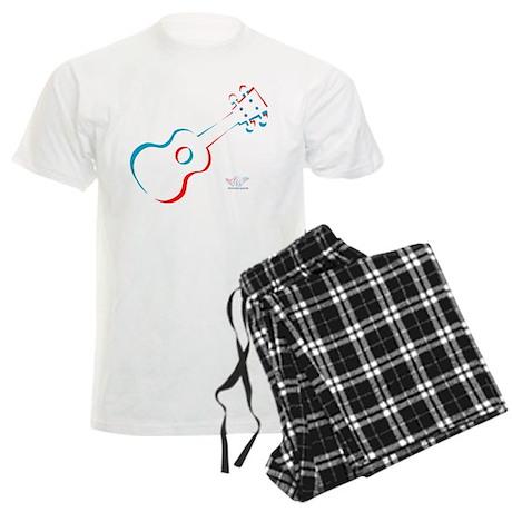 Ukulele 3D Men's Light Pajamas