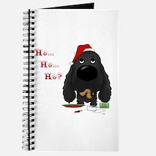 Cocker Santa's Cookies Journal