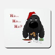 Cocker Santa's Cookies Mousepad