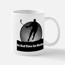 No Bad Time for Hockey Mug