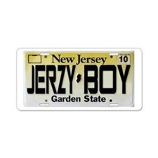 Jersey Boy Aluminum License Plate