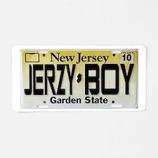Jersey Boy Aluminum License Plate