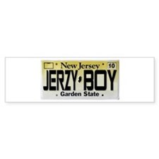 Jersey Boy Bumper Sticker