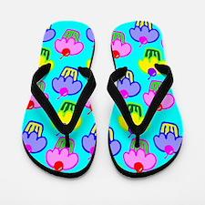 Cupcakes Flip Flops