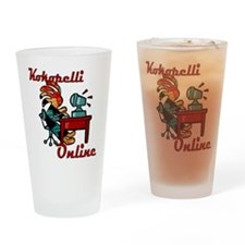 Computer Kokopelli Drinking Glass