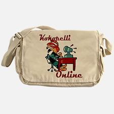 Computer Kokopelli Messenger Bag