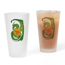 Insane Irish Drinking Glass: Carleen's Design