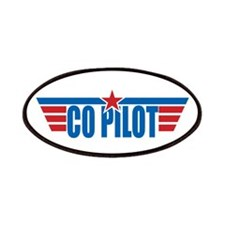 Co Pilot Wings Patches