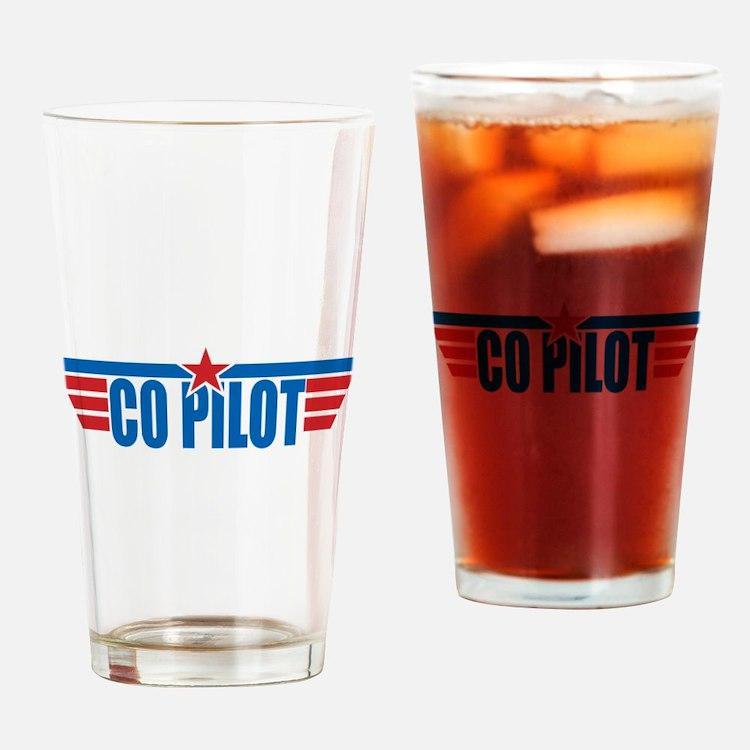 Co Pilot Wings Drinking Glass