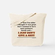 Patience Humor Tote Bag