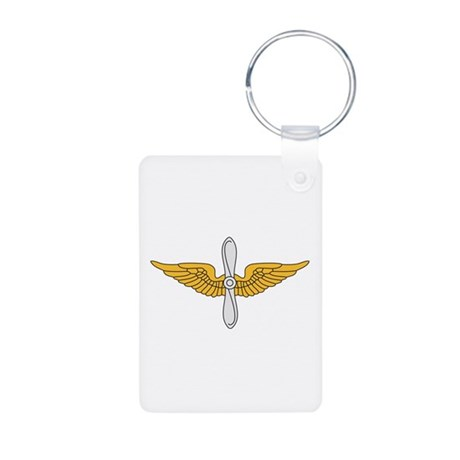 Aviation Branch Insignia Aluminum Photo Keychain