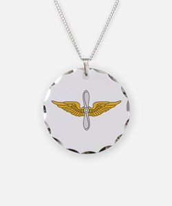 Aviation Branch Insignia Necklace