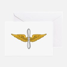Aviation Branch Insignia Greeting Cards (Pk of 10)