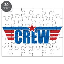 Aviation Crew Wings Puzzle
