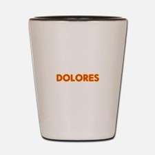 Dolores in Movie Lights Shot Glass