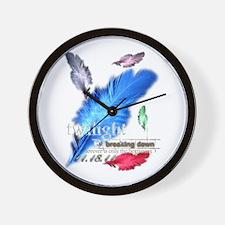 Breaking Dawn: forever... Wall Clock