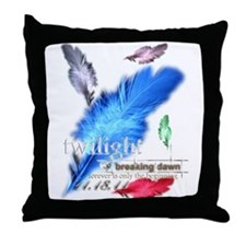 Breaking Dawn: forever... Throw Pillow