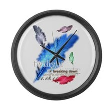 Breaking Dawn: forever... Large Wall Clock