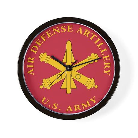 Air Defense Artillery Plaque Wall Clock