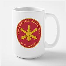 Air Defense Artillery Plaque Large Mug