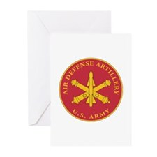 Air Defense Artillery Plaque Greeting Cards (Pk of