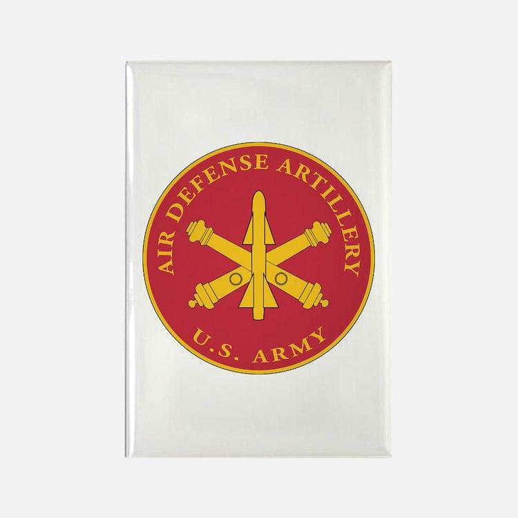 Air Defense Artillery Plaque Rectangle Magnet