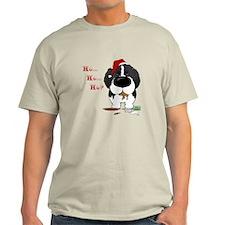 Newfie Santa's Cookies T-Shirt