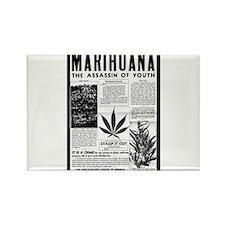 Marihuana Rectangle Magnet
