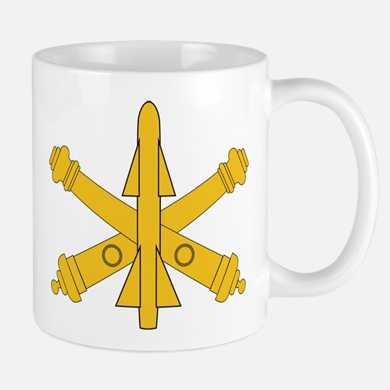 Air Defense Artillery Branch Insignia Mug