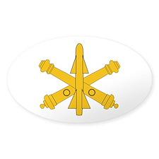 Air Defense Artillery Branch Insignia Decal
