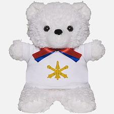 Air Defense Artillery Branch Insignia Teddy Bear